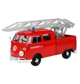 Volkswagen Volkswagen T1 (Type 2) Feuerwehr + Ladder 1950 - 1:24 - Motor Max