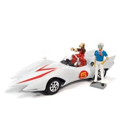 Speed Racer ''Mach 5 Five'' + 2 Figures - 1:18 - Auto World