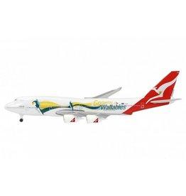 Boeing Boeing 747-400 'Qantas' - 1:600 - Schabak / Schuco
