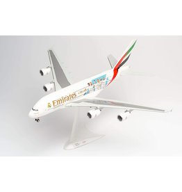Airbus Airbus A380-800 'Emirates / Real Madrid' - 1:200 - Herpa