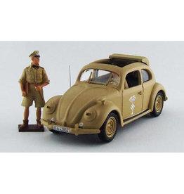 Volkswagen Volkswagen Beetle Maggiolino  Africa Corps 1941 + Figures Rommel & Driver - 1:43 - Rio