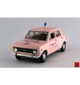 Fiat Fiat 128 4-Door Pink Cross Heavenly Pediatric Medical Service 1971 - 1:43 - Rio