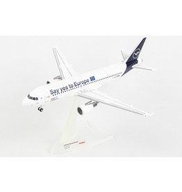Airbus Airbus A320 'Lufthansa Say yes to Europe D-AIZG Sindelfingen' - 1:200 - Herpa