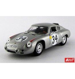 Porsche Porsche 1600GS Abarth #34 24H Le Mans 1962 - 1:43 - Best Model