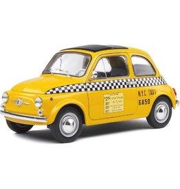 Fiat Fiat 500 L 'N.Y.C. Taxi' 1965 - 1:18 - Solido