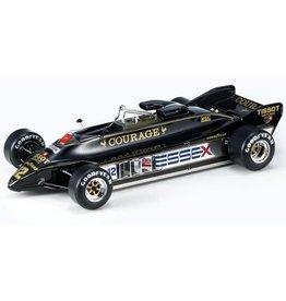 Formule 1 Lotus 88B #12 Courage Essex 1981 Nigel Mansell + Showcase - 1:18 - GP Replicas