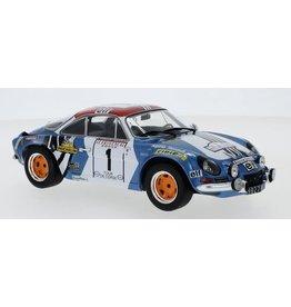 Alpine Alpine Renault A110 #1 Rally WM Tour de Corse 1973 - 1:18 - IXO Models