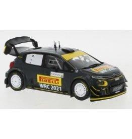 Citroen Citroen C3 WRC #20 Rally WM Rally Sardinia 2020 - 1:43 - IXO Models