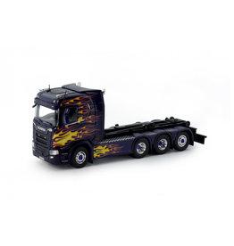Scania Scania Next Gen. R-Series Highline Rigid Truck 8x2 Hookarm 'Svetsab'  - 1:50 - Tekno