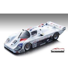 Sauber Sauber C8 Mercedes M117 5.0L Turbo V8 #61 Team Sauber Racing 24H Le Mans 1985 - 1:18 - Tecnomodel Mythos