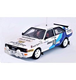 Audi Audi Quattro #10 Malcolm Wilson (Motorsport) LTD Rally WM Rally Sweden 1985 - 1:43 - Troféu