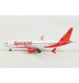 Boeing Boeing 737 MAX 8 'Spicejet VT-MAX King Chilli' - 1:500 - Herpa