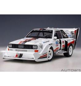 Audi Audi Quattro Sport S1 #1  Winner Pikes Peak  (USA)1987 - 1 :18 - AUTOart