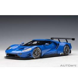 Ford Ford GT Le Mans Plain Body Version 2019 - 1:18 - AUTOart