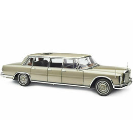 Mercedes-Benz Mercedes-Benz S-Class 600 Pullman W100 1963 + Sun Roof - 1:18 - CMC