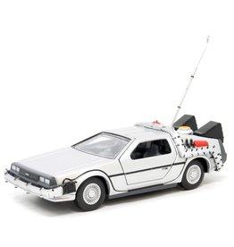 DeLorean DeLorean Time Machine 'Back to the Future I' + Figure - 1:36  - Corgi