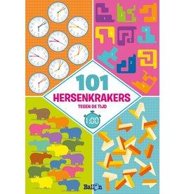 Ballon 101 Hersenkrakers Tegen De Tijd - Puzzelboek