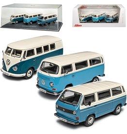 Volkswagen Volkswagen Transporter Set 'Die Luftgekühlten' - 1:43 - Schuco