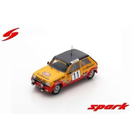 Renault Renault R5 Alpine #11 Monte Carlo Rally 1979 - 1:43 - Spark