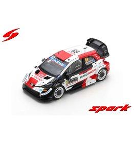 Toyota Toyota Yaris WRC #69 Toyota Gazoo Racing WRT Rally Monte Carlo 2021 - 1:43 - Spark