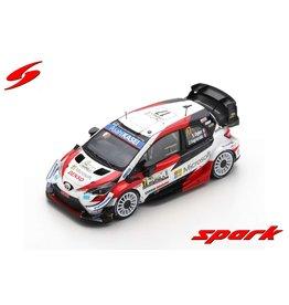 Toyota Toyota Yaris WRC #17 Winner Rally Monza 2020 WRC 2020 Drivers Champion - 1:43 - Spark