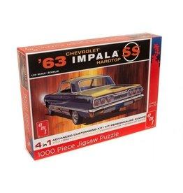 AMT Legpuzzel Chevrolet Impala SS Hardtop 1963 - 1:25 - AMT
