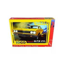AMT Legpuzzel Plymouth GTX Hardtop Pro Street 1969 - 1:25 - AMT
