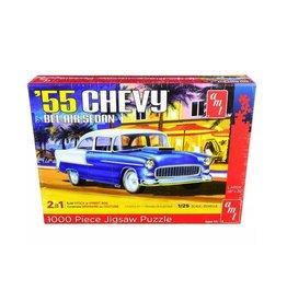 AMT Jigsaw Puzzle Chevy Bel Air Sedan 1955 - 1:25 - AMT