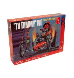 """AMT Jigsaw Puzzle """"TV Tommy"""" Ivo Dragster - AMT"""
