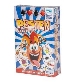 CLOWN GAMES Clown Games Pesten - Kaartspel