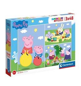 CLEMENTONI Clementoni Peppa Pig Puzzle 3x48