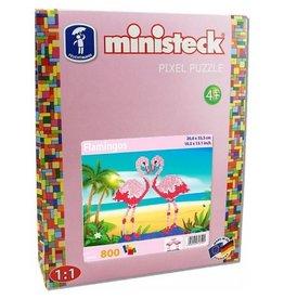 Ministeck Ministeck Flamingos - 800 onderdelen