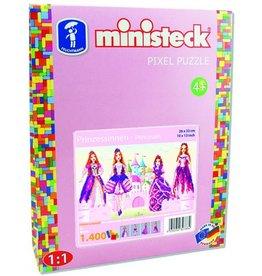 Ministeck Ministeck Prinsessen 4 in 1 - 1.400 onderdelen