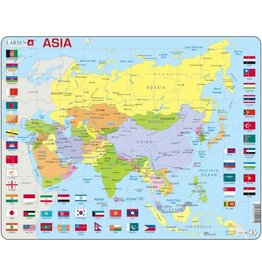 Larsen Larsen Azië Puzzel - Staatkundig - 70 onderdelen
