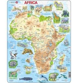 Larsen Larsen Afrika Puzzel - Natuurkundig - 63 onderdelen
