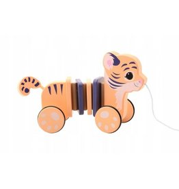Joueco Joueco The Wildies Family Pull-a-long Tiger