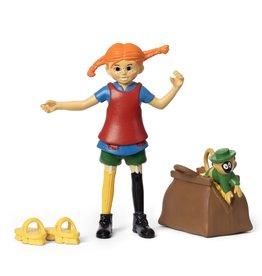 Pippi Langkous Figuren Pippi en Mr. Nilson