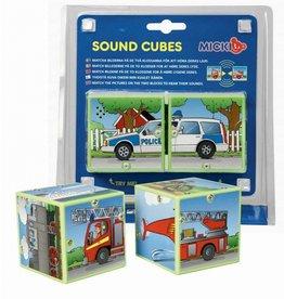 Micki Micki Sound Cubes Vehicles