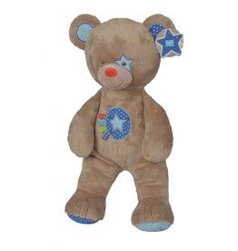 LIEF! Lief! Bear Brown with Blue - 60cm