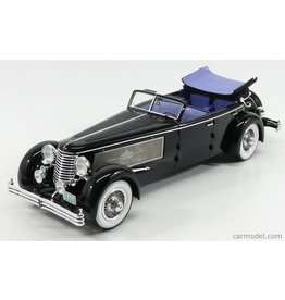 Duesenberg Duesenberg SJ Town Car Convertible Open/ Open Windows by Rollson 1937 Personal Car Rudolf Bauer - 1:18 - Esval Models