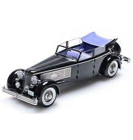 Duesenberg Duesenberg SJ Town Car Convertible Open/ Closed Windows by Rollson 1937 Personal Car Rudolf Bauer - 1:18 - Esval Models