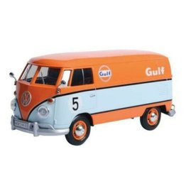 Volkswagen Volkswagen Type 2 (T1) Delivery Van #5 Gulf - 1:24 - Motor Max