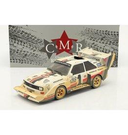 Audi Audi S1 #1 Winner Pikes Peak ''After Race Version'' 1987 - 1:18 - CMR Classic Model Replicars