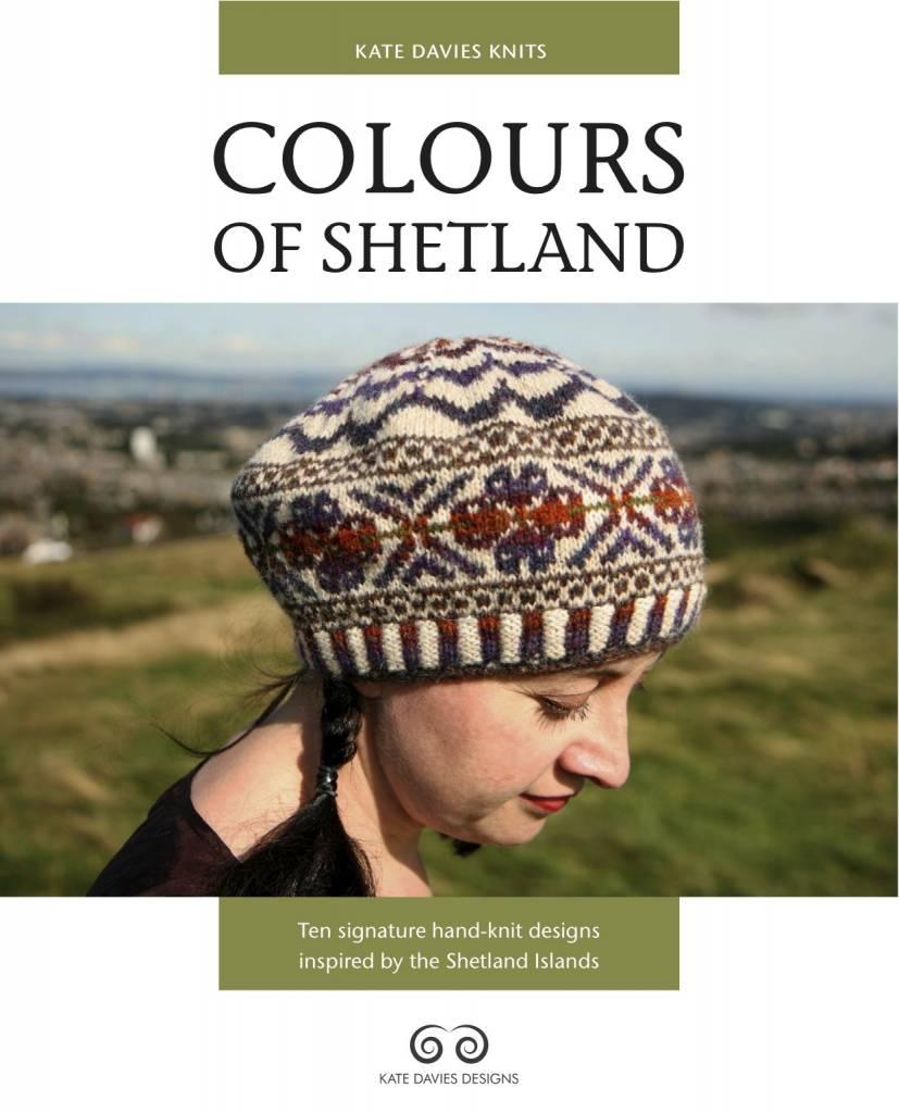 Kate Davies Design COLOURS OF SHETLAND by KATE DAVIES