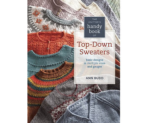 fa6710d58 SEARCH PRESS THE KNITTERS HANDY BOOK OF TOP-DOWN SWEATERS by ANN BUDD -  Stephen   Penelope