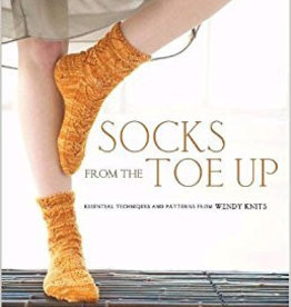 SOCKS FROM THE TOE UP by WENDY JOHNSON