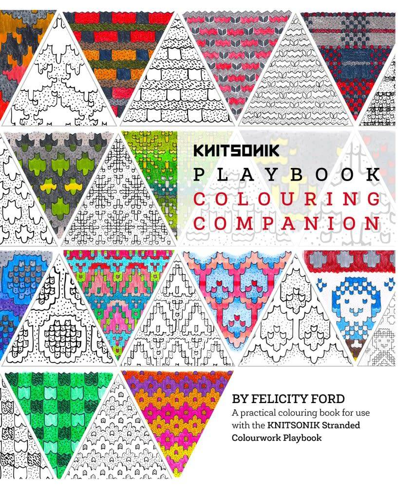 Knitsonik KNITSONIK PLAYBOOK COLOURING COMPANION by FELICITY FORD