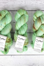 WALK collection COTTAGE MERINO - MINT BRITTLE