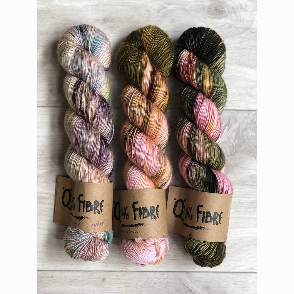 THREE SKEIN FADE - PEONIES
