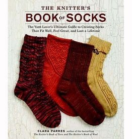 THE KNITTER'S BOOK OF SOCKS by CLARA PARKES